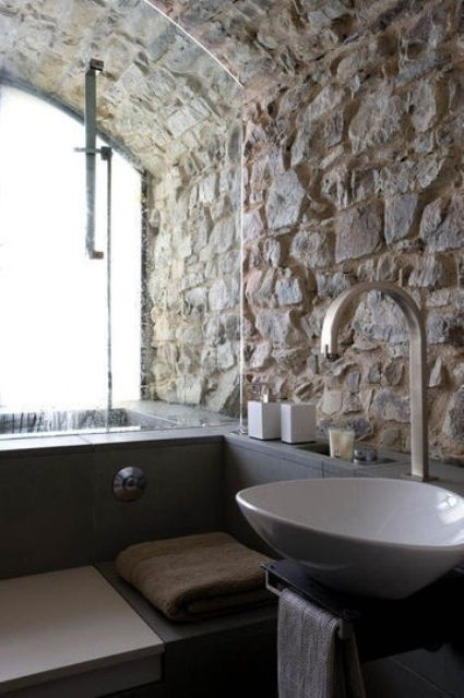 Wonderful Stone Bathroom Designs DigsDigs Baños Pinterest - 50 wonderful stone bathroom designs
