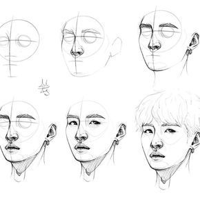 12 Astounding Learn To Draw Eyes Ideas In 2020 Face Drawing Bts Drawings Kpop Drawings
