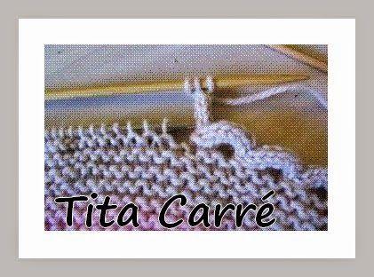 Tita Carré  Agulha e Tricot : I-Cord - Um acabamento em tricot muito legal...