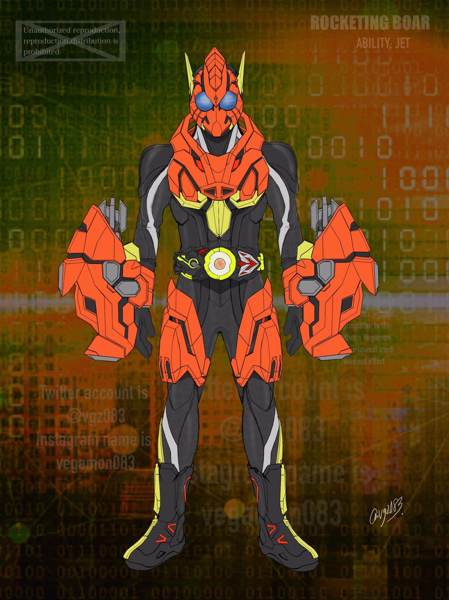 ベガもん on Kamen rider, Anime, Zero one