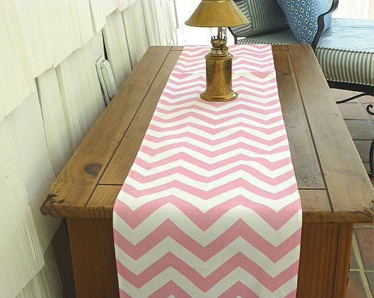 Choose Your Table Runner, Rose Quartz Chevron Table Runners For Wedding  Decor, Birthday Parties, Party Decor, Holidays