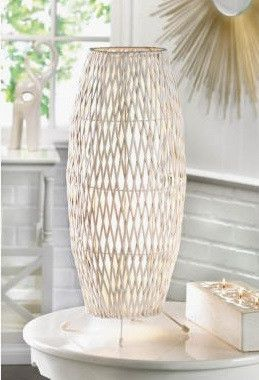 White woven table lamp products white woven table lamp mozeypictures Image collections