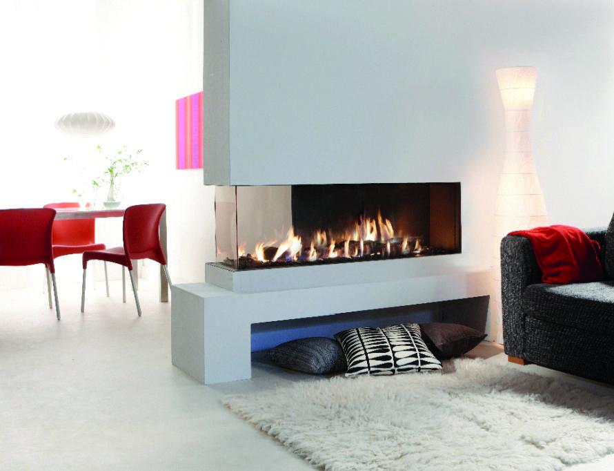 Gaskamin von Rüegg #Gaskamin #gas fireplace #Heizkamin #Ofen - wohnzimmer gemutlich kamin