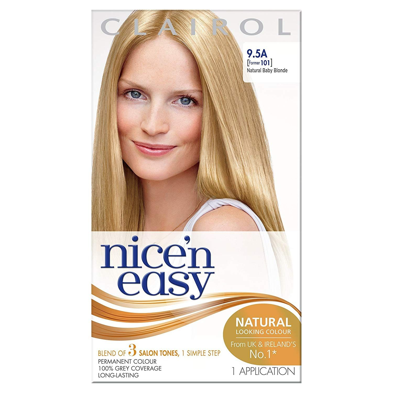 Clairol Nice N Easy Permanent Hair Colour 101 Natural Lightest
