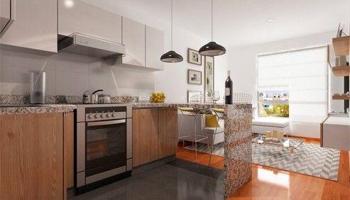Proyecto Edificio Novo-cocina-Urbania.pe