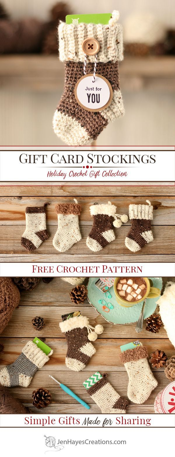 Gift Card Stockings | Jen Hayes Creations