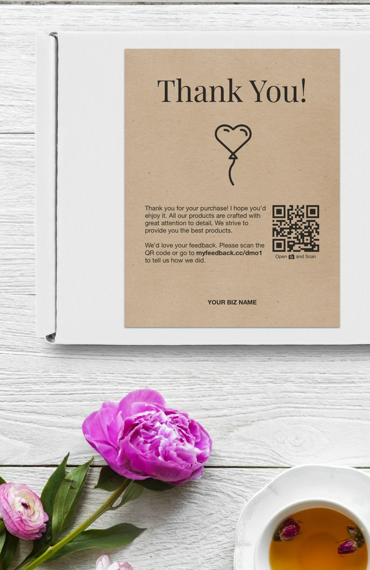 Printable Business Thank You Cards Thank You For Your Purchase