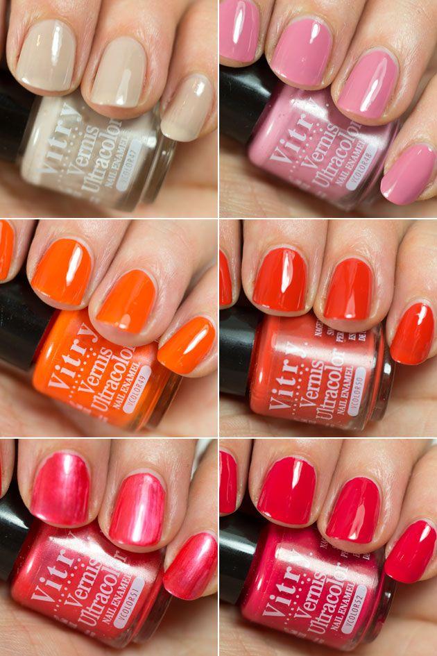 Les vernis à ongles Vitry Nail polish, Nails, Nail care