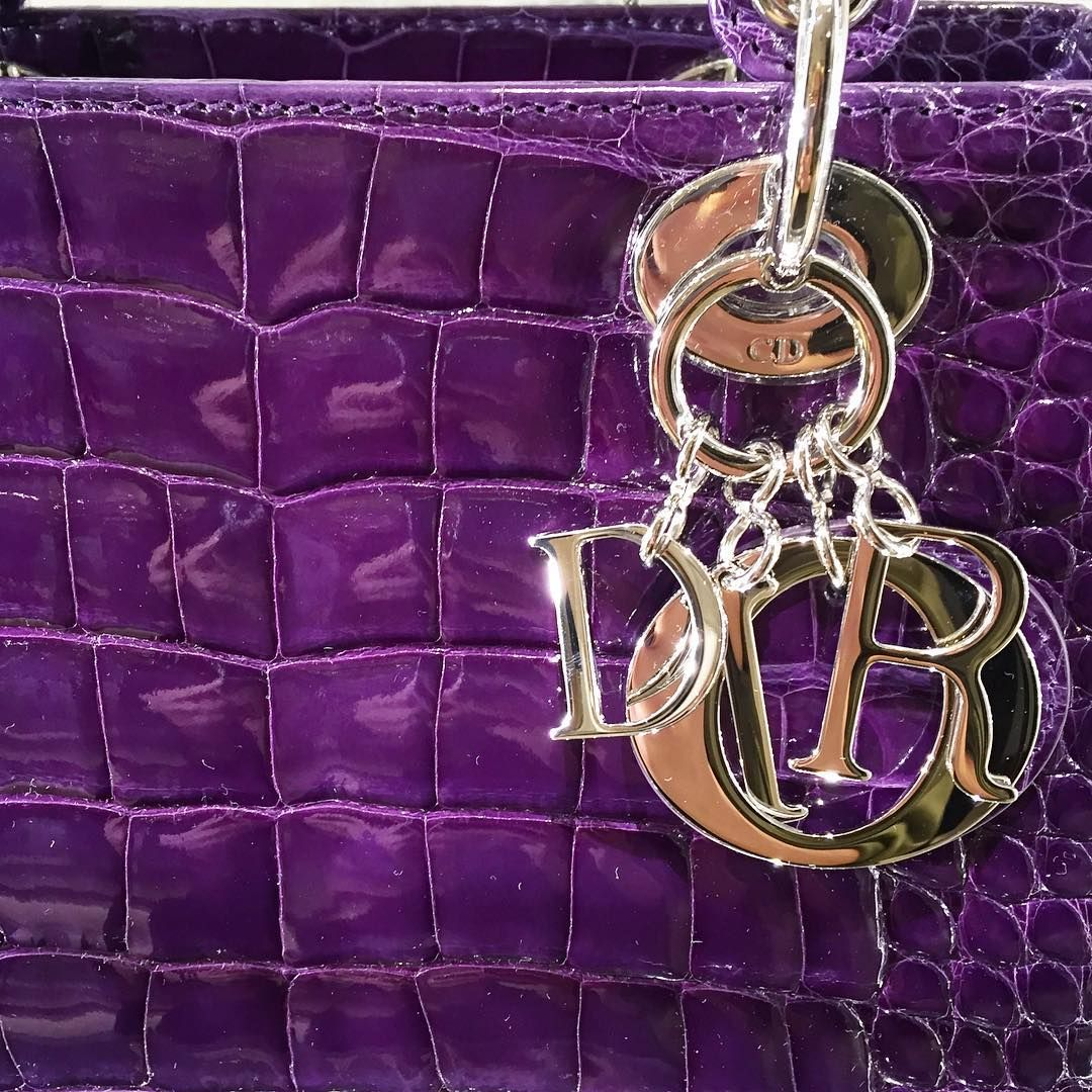 """""""Charmed: don't miss the @dior exotic handbag Trunk Show happening now on the first floor."""""""