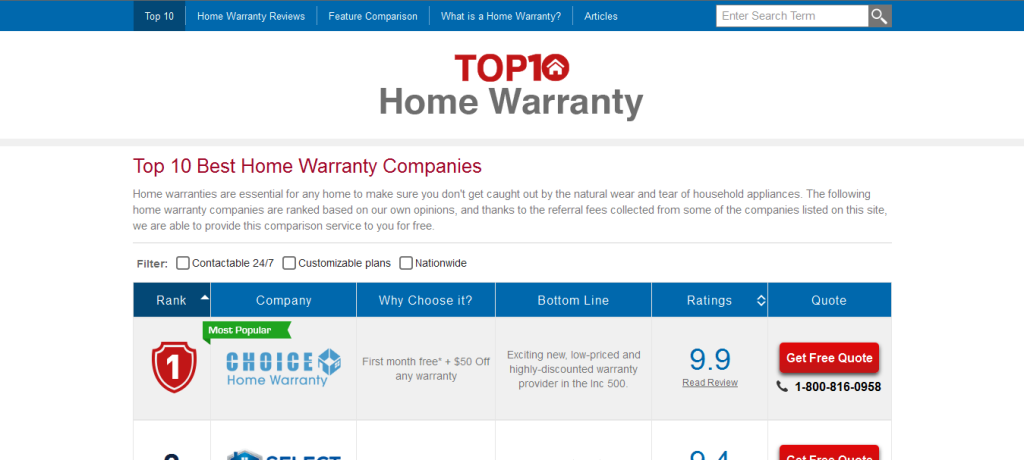 Recognized As The 1 Home Warranty Company Home Warranty Companies Home Warranty Choice Home Warranty