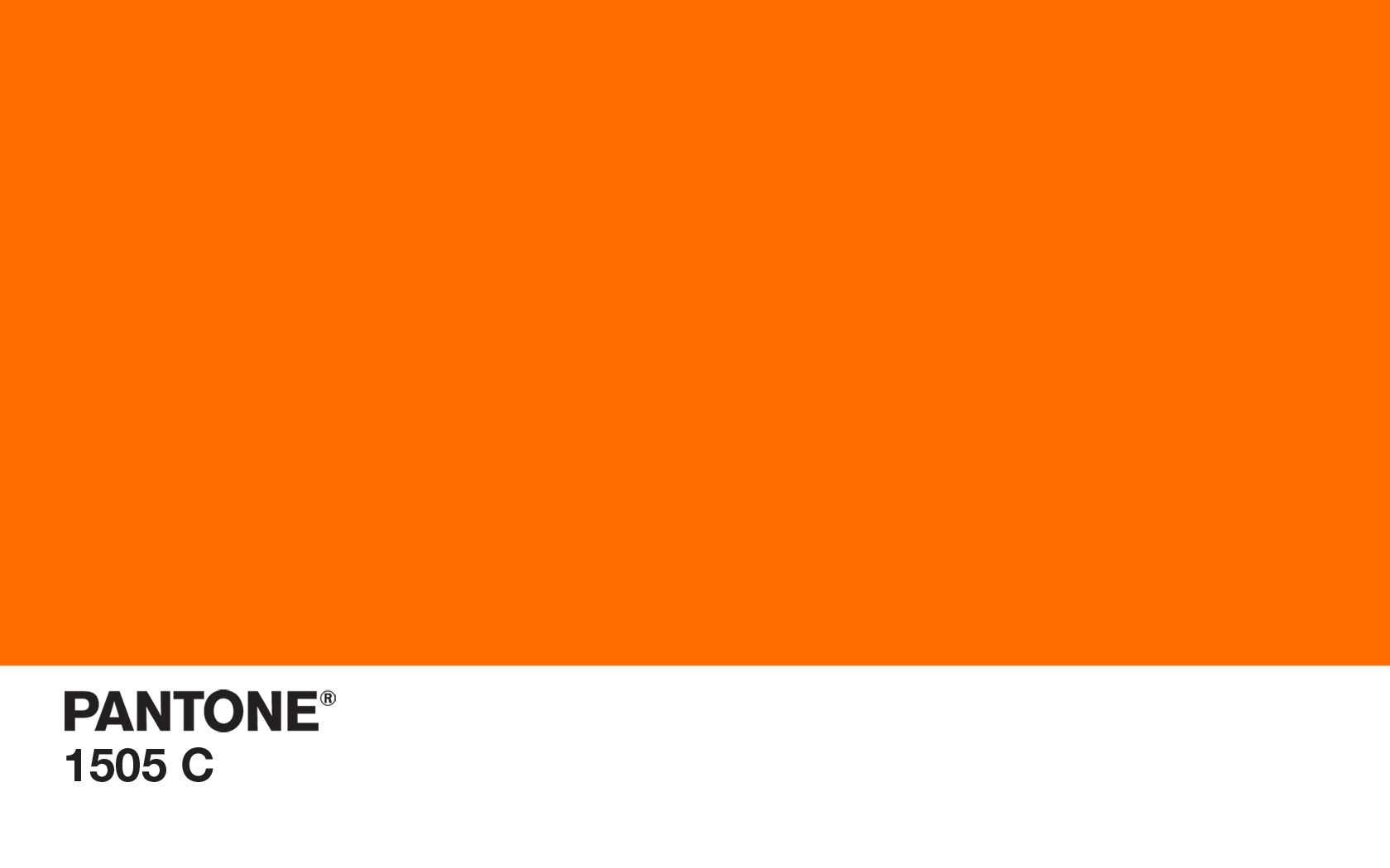 Pantone Pms 1505c Orange Color Wallpaper Colorful Simple