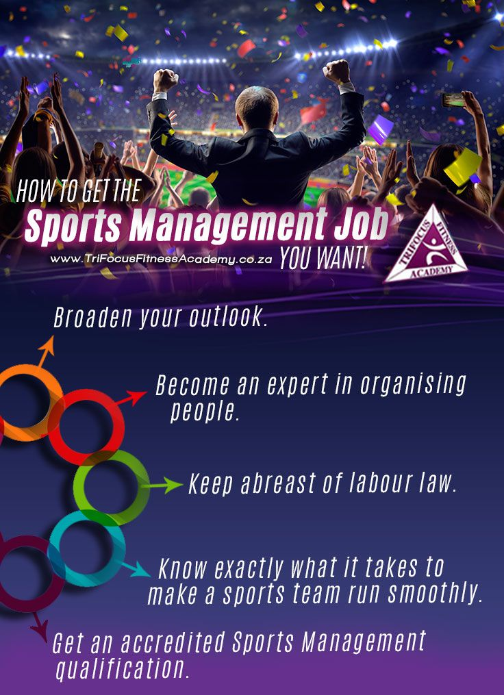How to Get the Most out of your Sports Management Job