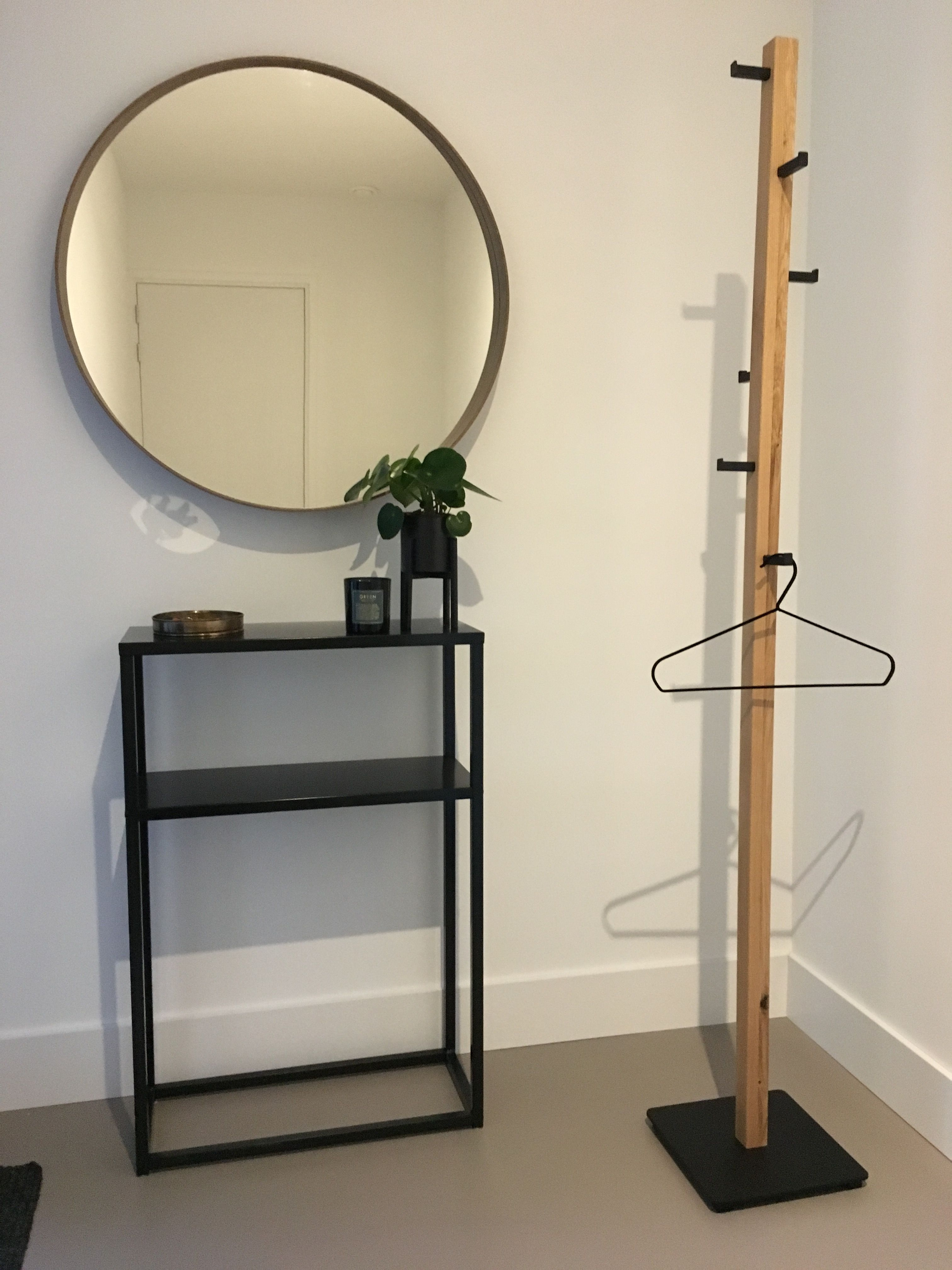 Staande Kapstok Bijkeuken Hal Ideeen Grote Spiegel Ikea Interieur Ideeen Staande Spiegel Spiegel