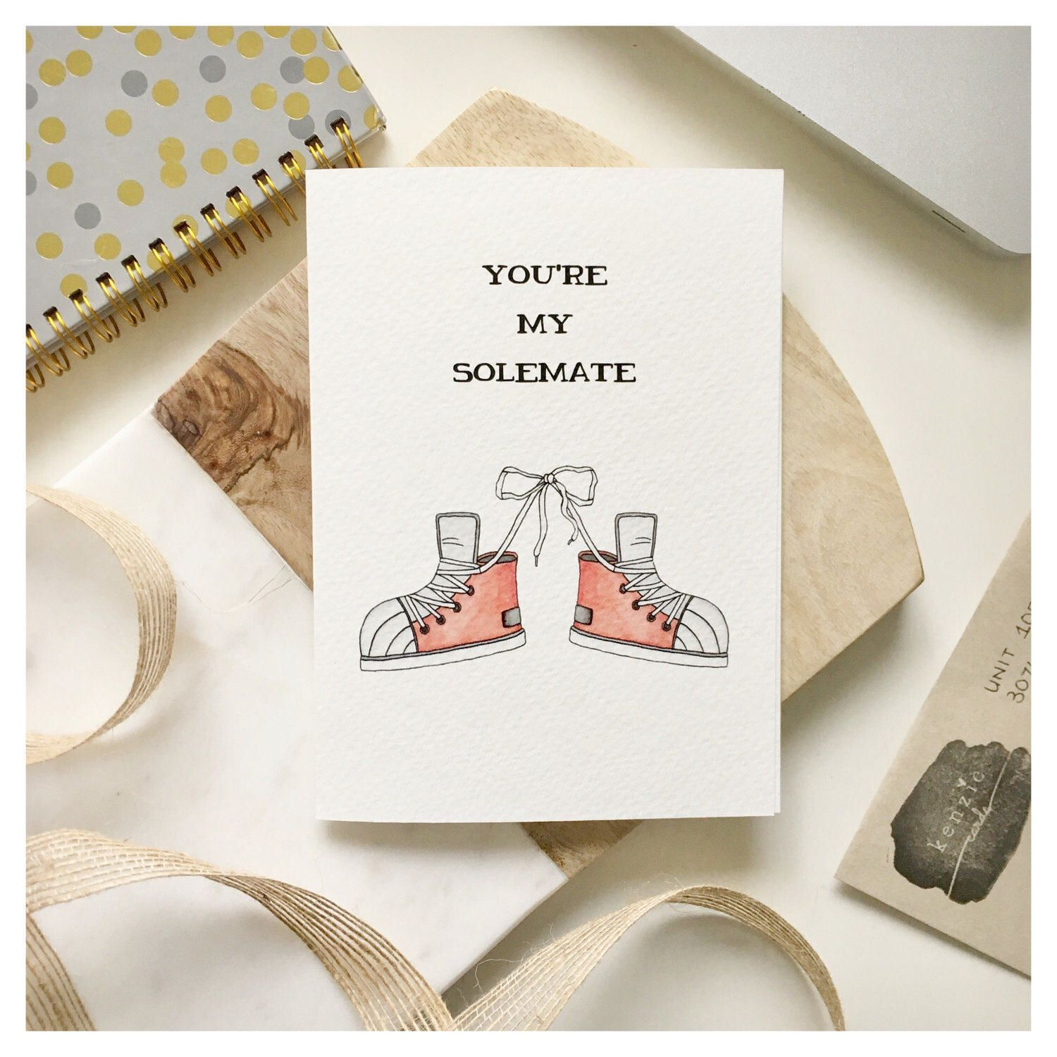 Soulmate card love card funny love card anniversary card funny s o l e m a t e s punny greeting card love card valentines day card anniversary card kristyandbryce Images