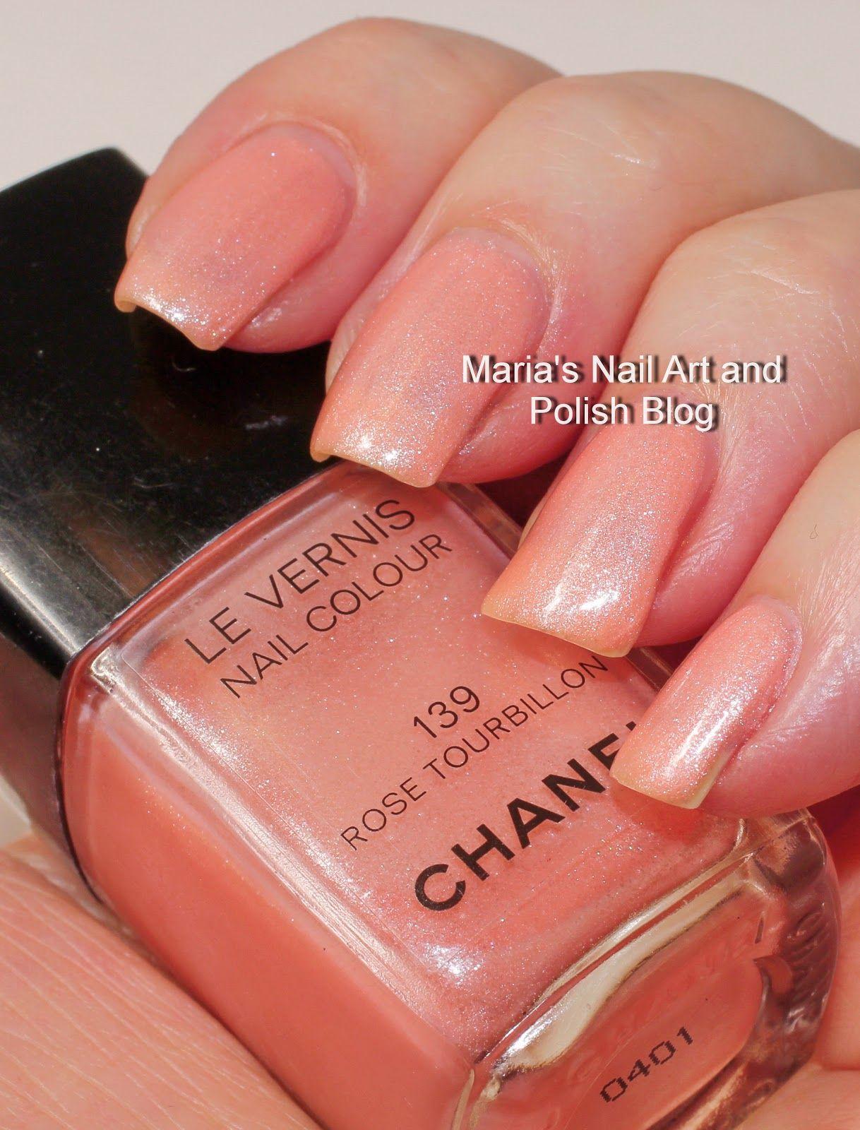 Chanel Rose Tourbillon 139 Chanel Nail Polish Chanel Nails Nail Polish