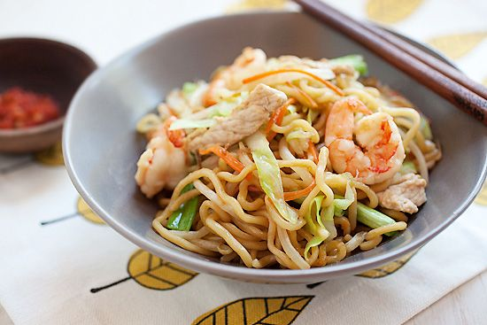 how to make chinese noodles step by step