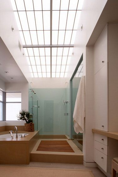David Michael Miller Associates 7034 East First Avenue Scottsdale Arizona 85251 Telephone 480 425 7545 Facsimile 480 4 Skylight Bathroom Contemporary Beach House Beach House Bathroom