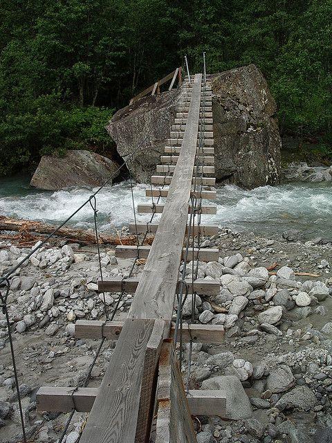 Floitengrund Bridge | a u s t r i a | Mayrhofen ...