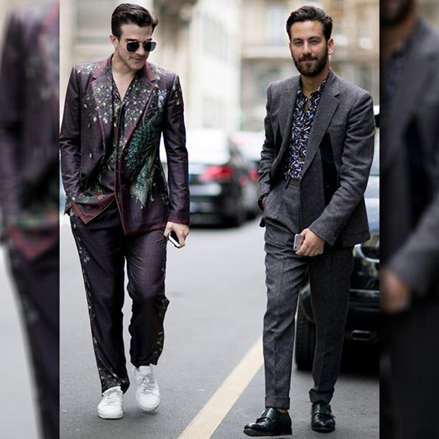 Italian dudes, well, just know how to dress apparently. From floral print pants to reimagined oxford shirts and slick leather shoes, every piece is top notch ;-) More Fashion Trends, Style Icons and Modern Hacks at @MnsFashions ✌ Be sure to follow!