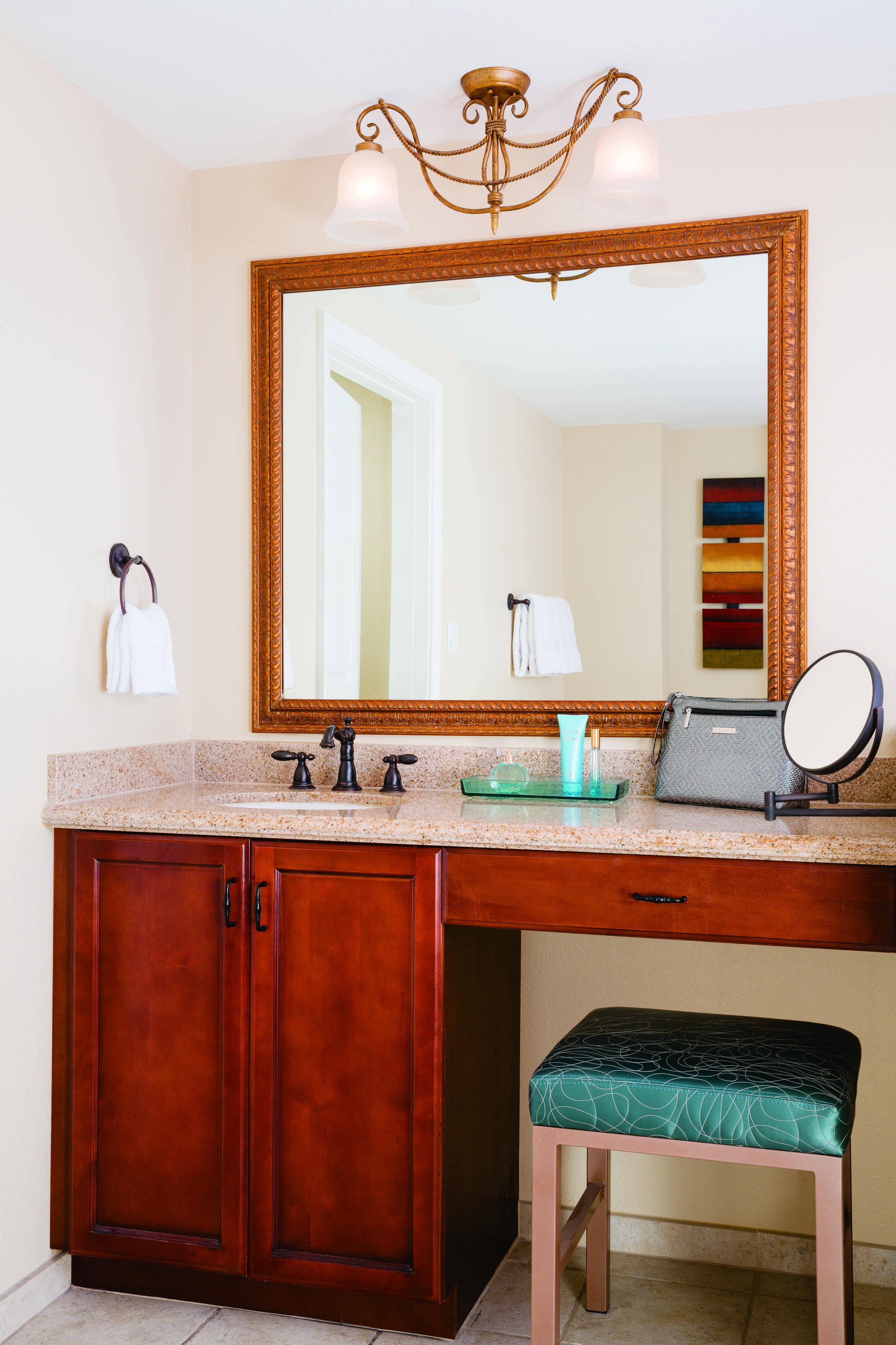 Marriotts grand chateau villa master bathroom vanity
