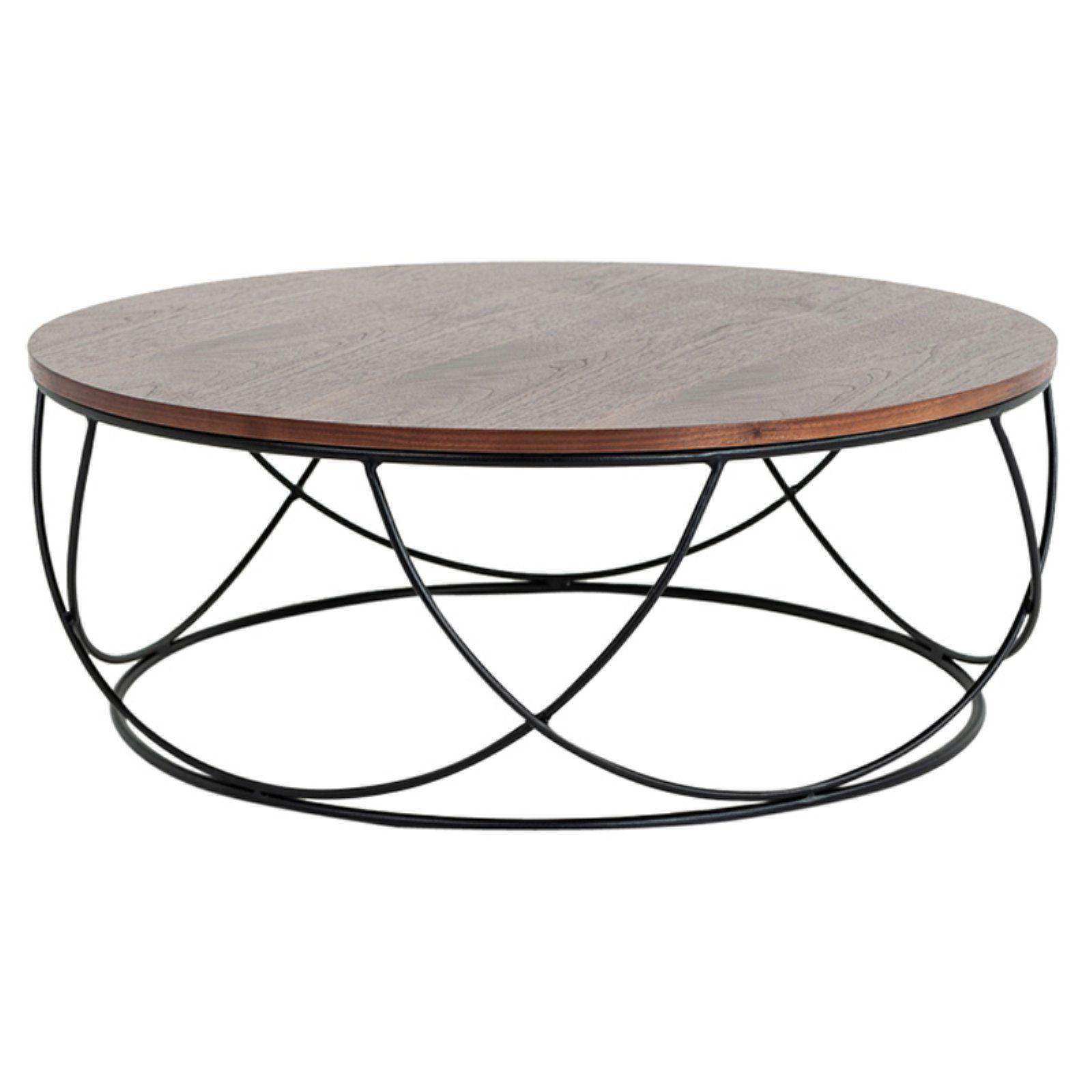 Vig Furniture Modrest Strang Modern Round Coffee Table Round Coffee Table Modern Coffee Table Wood Coffee Table Walmart [ 1600 x 1600 Pixel ]