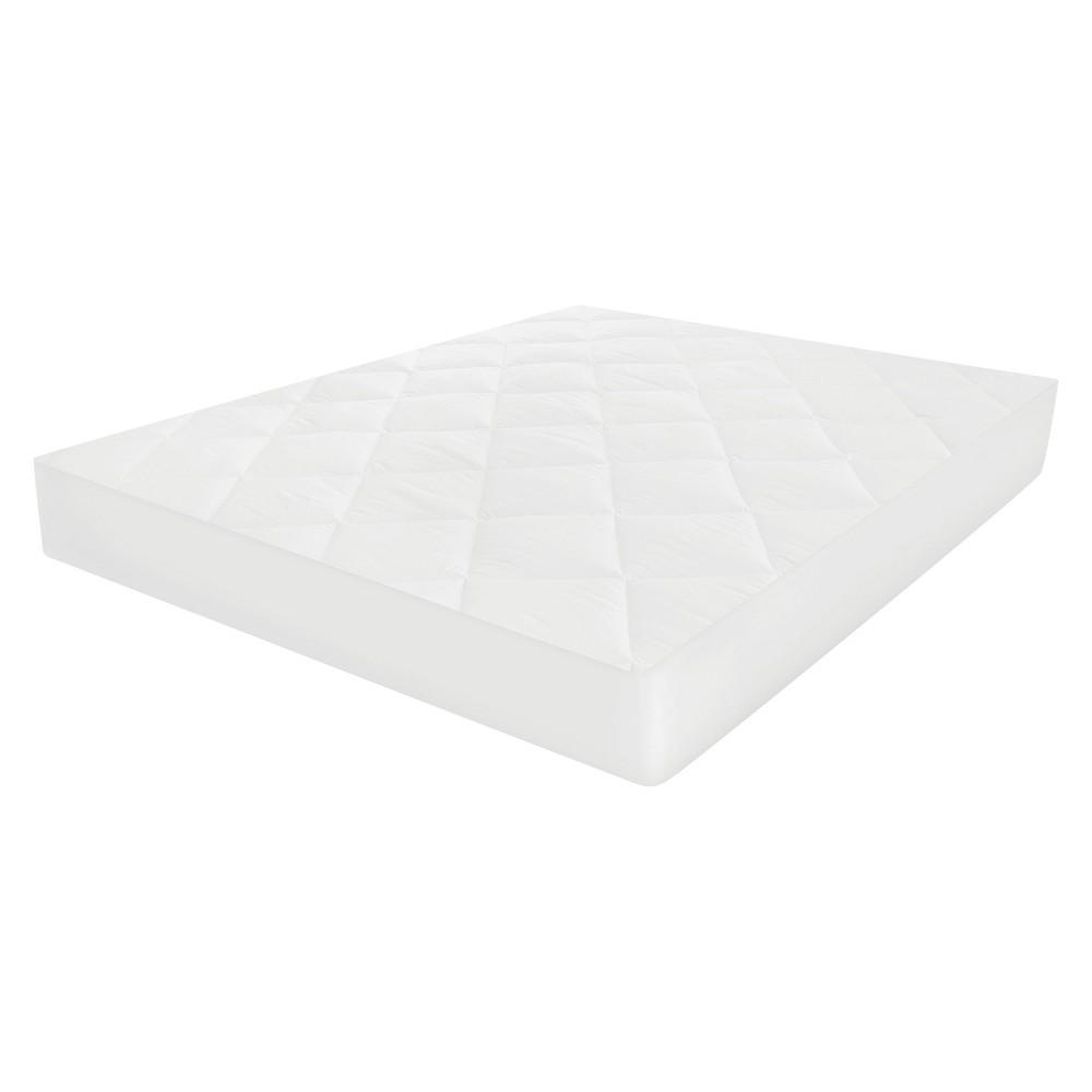 MicroShield Mattress Pad (Twin Extra Long) White - SensorPedic
