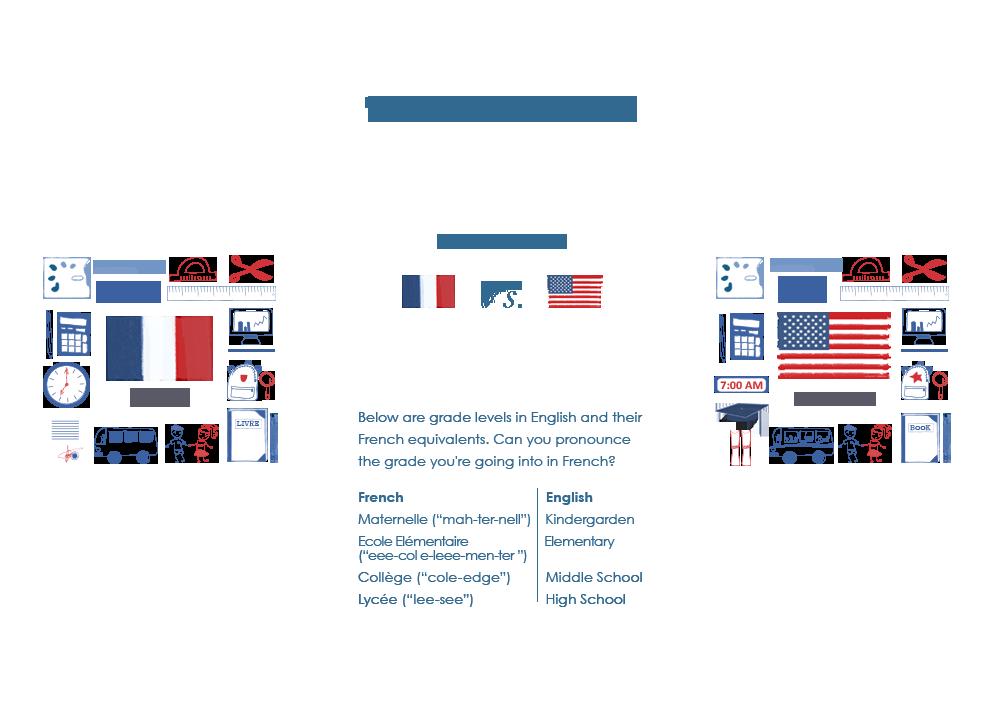 Back to School Lessons: France vs USA | Stylish Kids Room ...