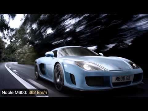 Los 17 coches más rápidos de 2012
