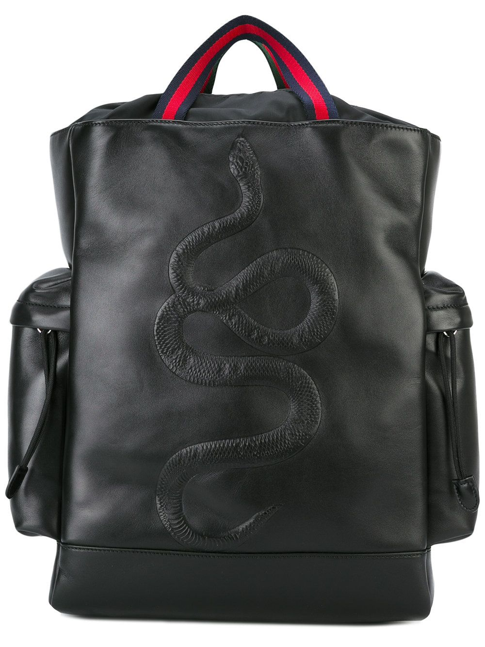 32d7a73031d6 Gucci kingsnake embroidered backpack | unusual backpacks in 2019 ...
