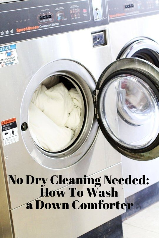No Need To Dry Clean How To Wash A Down Comforter