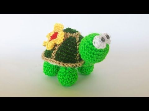 Amigurumi Turtle Pattern : Tartaruga uncinetto amigurumi tutorial crochet turtle tortuga