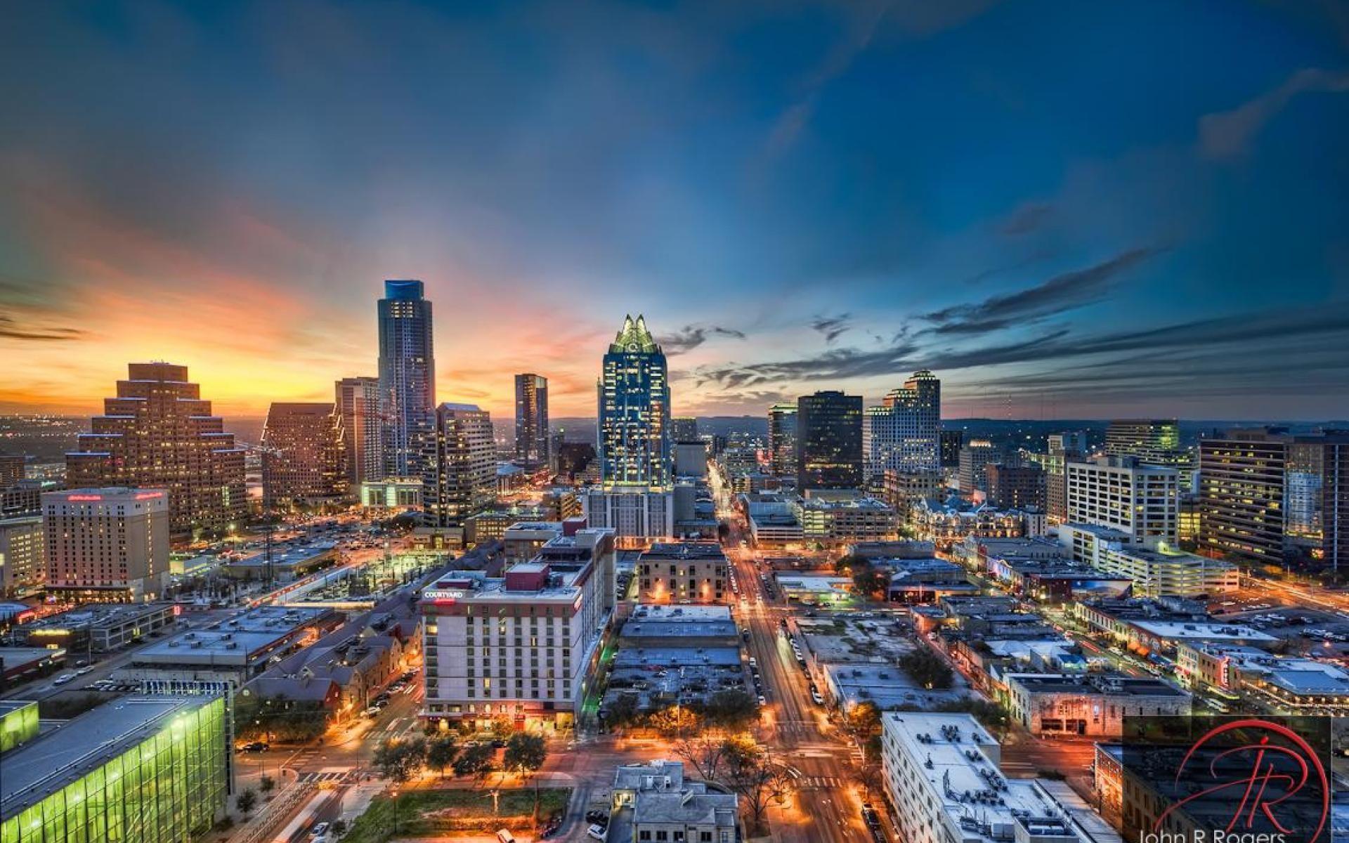 Austin Texas High Quality and Resolution Austin skyline