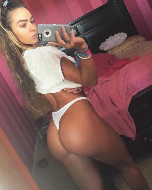 Anal gape chubby on back
