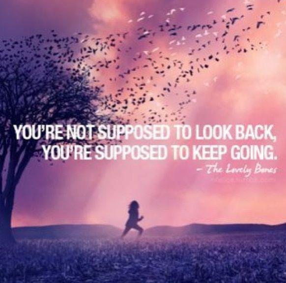 Se Supone Que No Se Debe Mirar Hacia Atrás, Se Supone Que