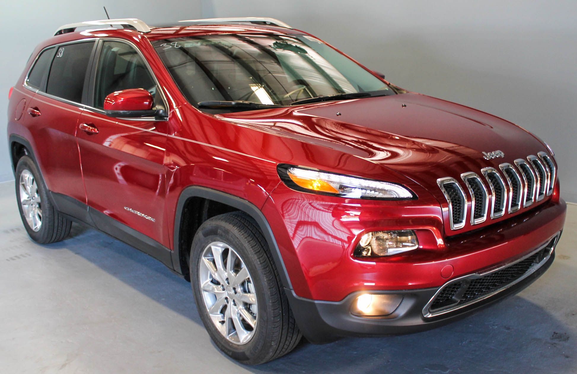 NEW 2014 Jeep Cherokee Limited Red