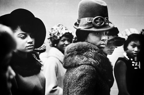 Harlem Fashion Show, 1963 by Leonard Freed
