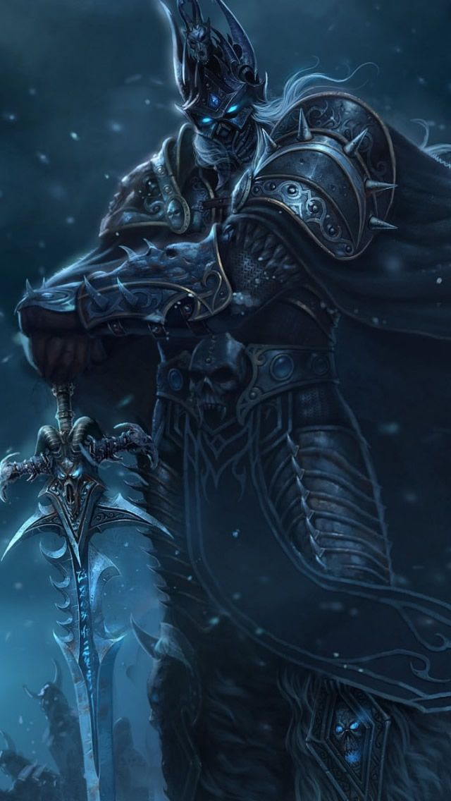 Wow Lich King Iphone 5s Wallpaper World Of Warcraft