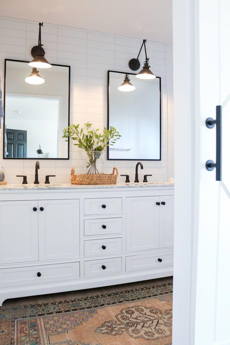 As Discussed Above Light Colors Help Cheer Up A Space White Being Among The Lighte In 2020 Master Bathroom Renovation Best Bathroom Designs Farmhouse Master Bathroom