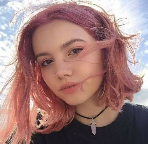 Pink Hair Girl Aesthetic