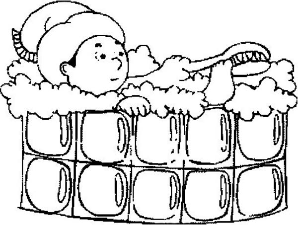 Kid Brushing His Feet While Take A Bath Coloring Pages Bulk Color Coloring Pages Online Coloring For Kids Online Coloring