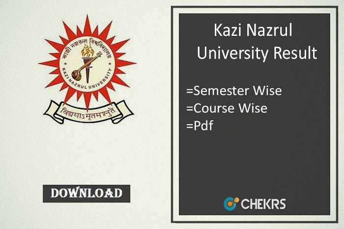 Kazi Nazrul University Result 2018!!! | Education
