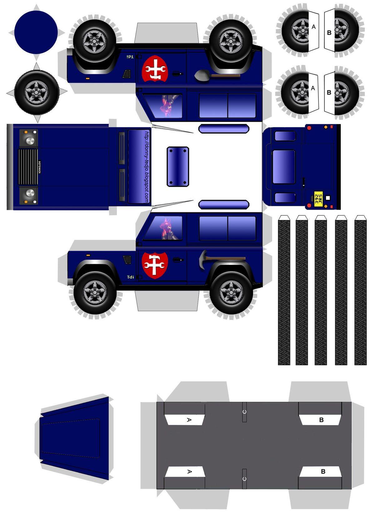 Land Rover | Car Papercraft | Pinterest | Land rovers ...