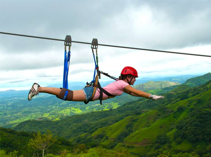 Zip Lines Canopy tours fly free as Superman in Puntarenas Costa Rica & Zip Lines Canopy tours fly free as Superman in Puntarenas Costa ...