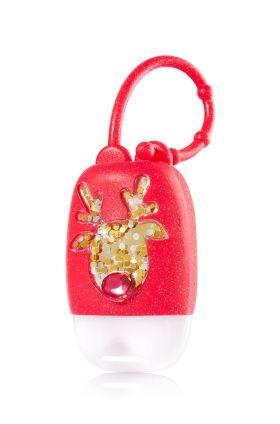 Gem Reindeer Pocketbac Holder Bath Body Works A Red Nosed