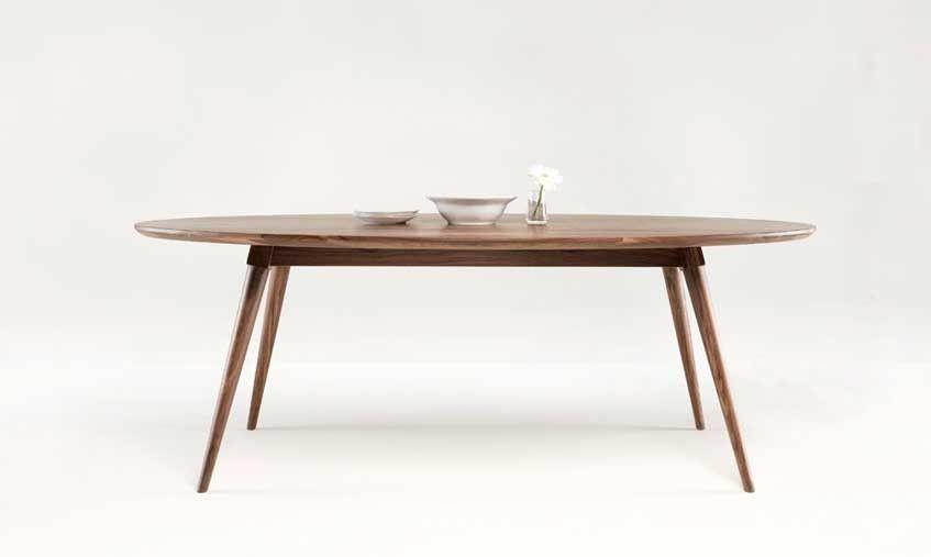 Mesa de comedor nrdica Ins en mbar Muebles  muebles en