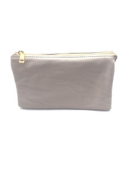 The LB Mint Leather Wristlet - 14 Colors