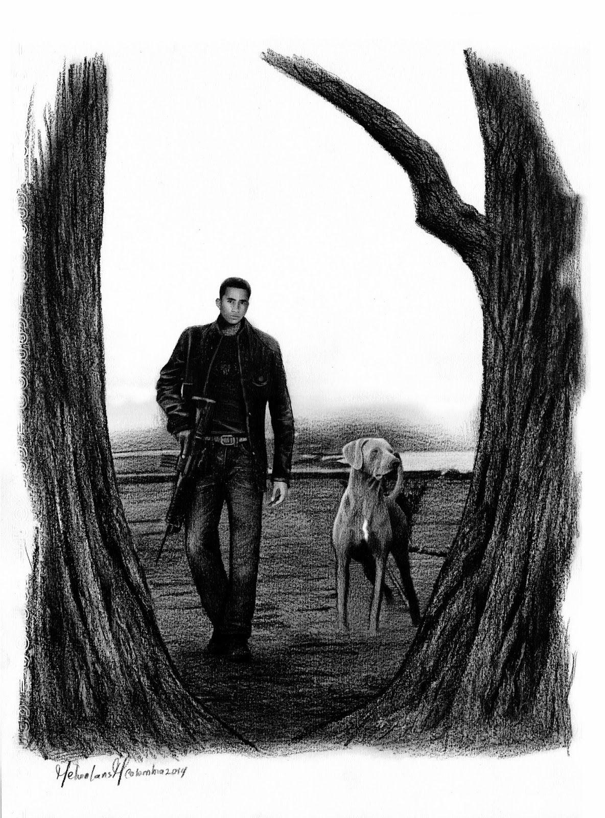 Melvin Lans dibujos y pinturas: Guerreros