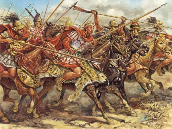 Alexander The Great Great Painting By Giuseppi Rava Ancient War