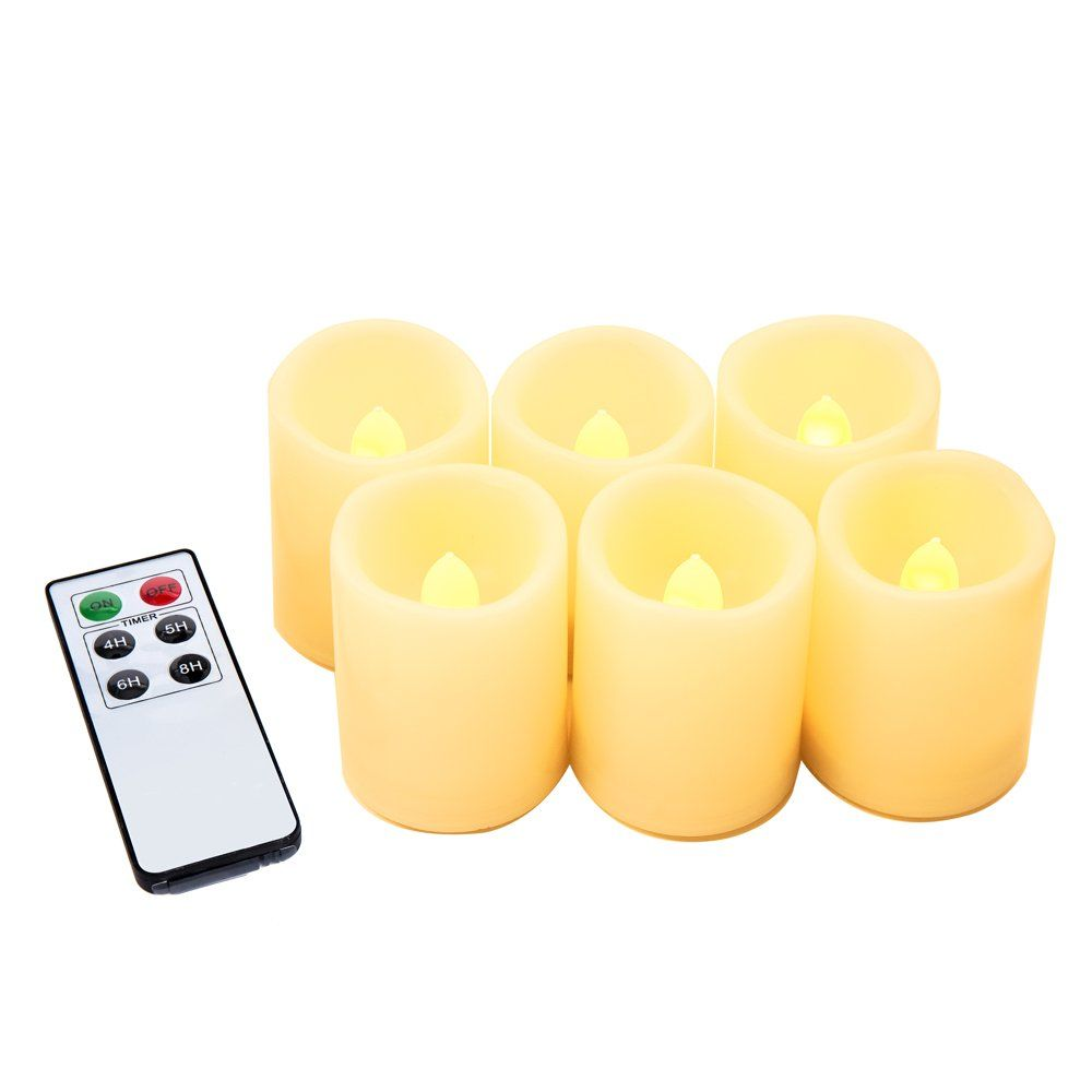 Flameless Votive Candles Flameless Candles With Remote Flickering Led Tea Light Candles For