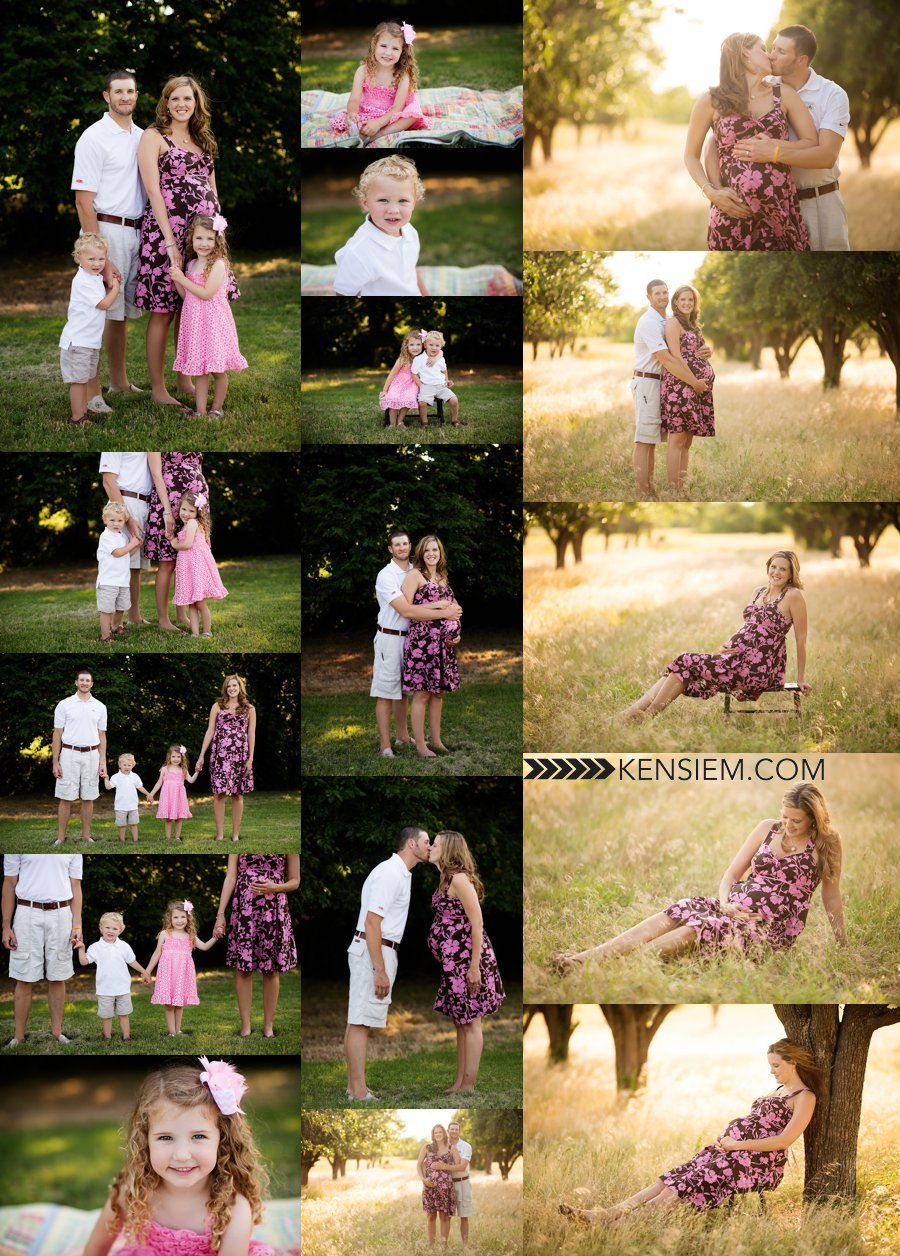 Maternity Photography And Family Poses Outdoor Portraits Of A
